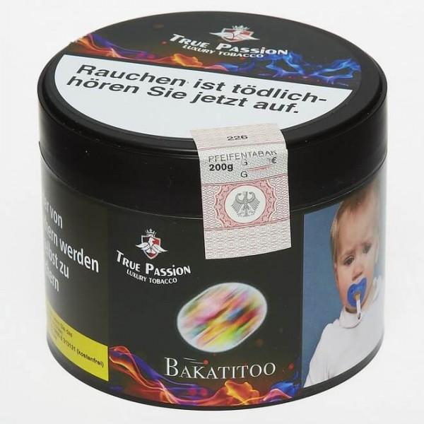 True Passion Tobacco Bakatitoo 200g