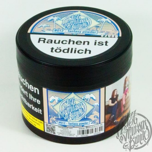 187 Strassenbande Tobacco #012 Fantasy Powder 200g