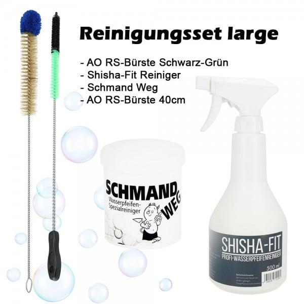 Reinigungsset Large mit Bürste und Reinigungsmittel