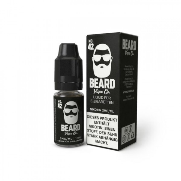 Beard Vape - No. 42 - 0mg Nikotin - 10ml