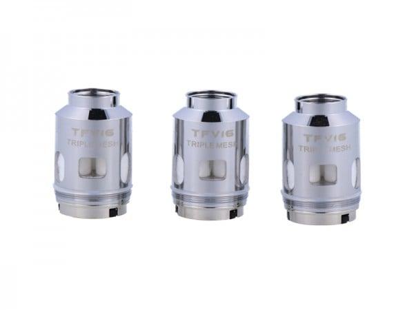 3x SMOK TFV16 Triple Mesh 0.15 Ohm Coil
