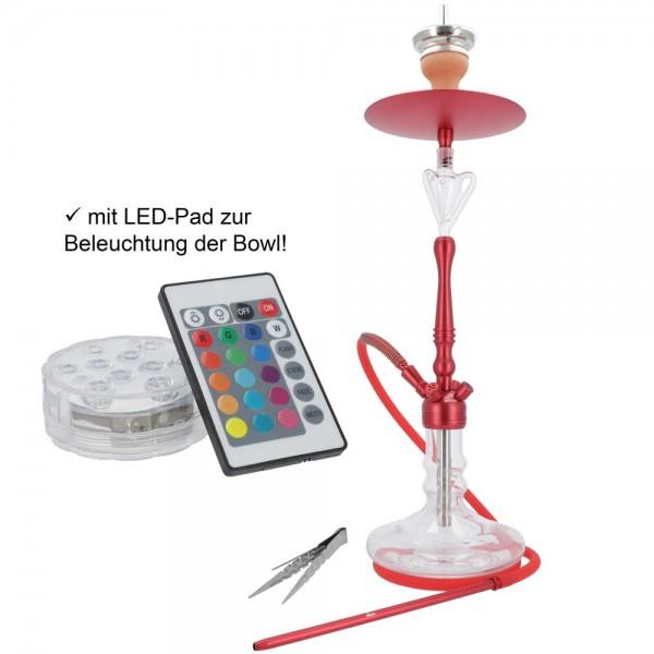 Smokezilla Viras Rot mit LED