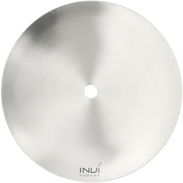 Invi Kohleteller Edelstahl Silber 24cm