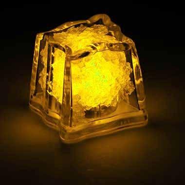 Magic Glow Eiswürfel Gelb
