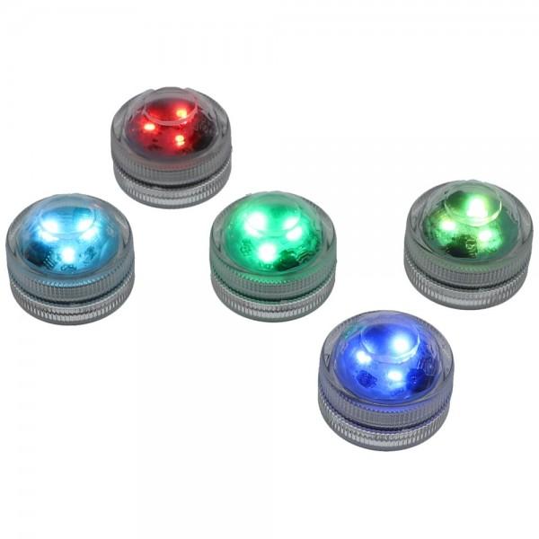 AO Hookah ECLIPSE LED-Mini Color 5er Pack mit Fernbedienung