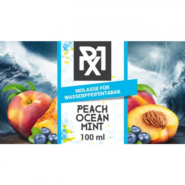Px1 Molasse Peach Ocean Mint 100ml