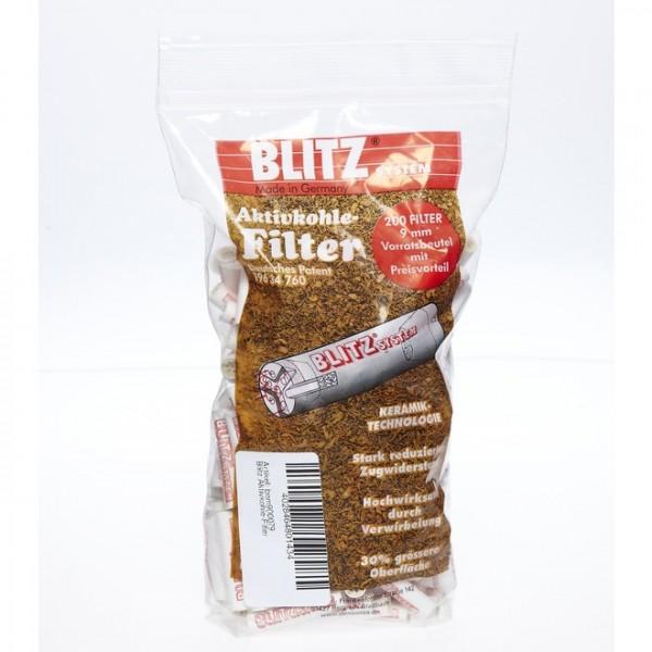 Blitz Aktivkohle-Filter