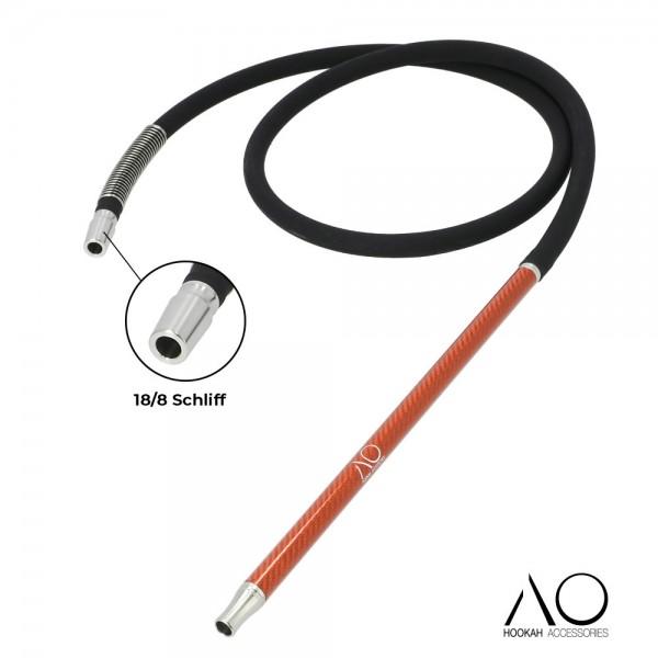 AO Carbon Schlauchset Orange 18/8