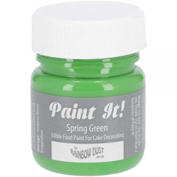 Rainbow Dust Paint-It Lebensmittelfarbe Spring Green
