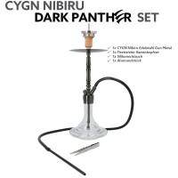CYGN Nibiru Dark Panther Set Edelstahl Gun Metal