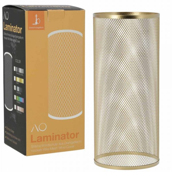 AO Laminator Windschutz Gold