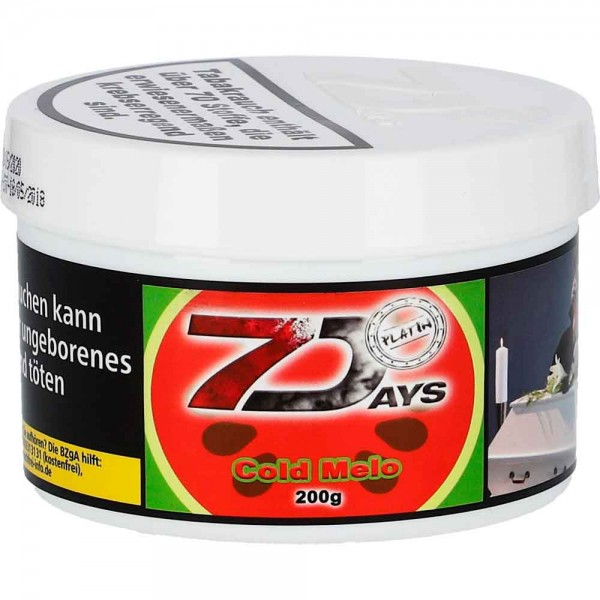 7 Days Platin Tabak Cold Melo 200g