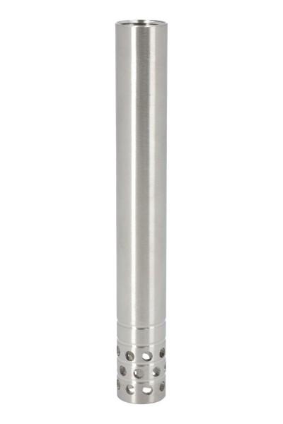 INVI Wasserrohr Edelstahl Gelocht 15cm
