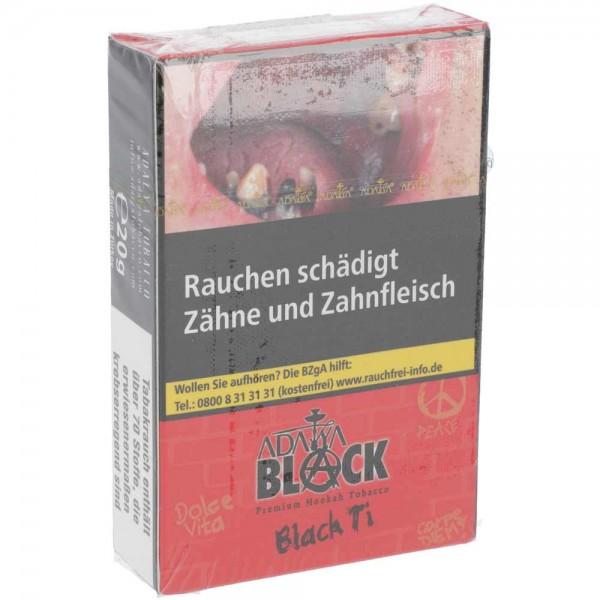 Adalya Tabak Black Edition Black Ti 20g