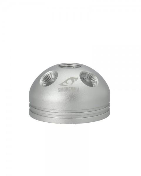 Smokezilla Rauchbase Baragon Aluminium Silber