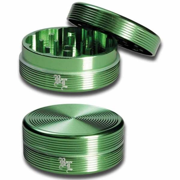 Black Leaf Riffel-Grinder 2-tlg. 50mm grün