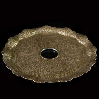 Teller Kaya Tebzi Oriental Gold 22cm