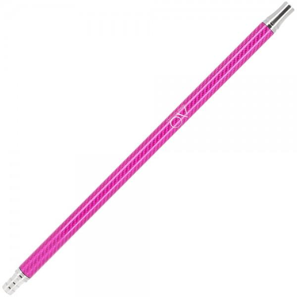 AO Carbon Mundstück Edelstahl V2A Pink