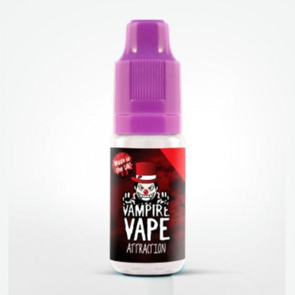 Vampire Vape Liquid 0mg - 10ml - Attraction