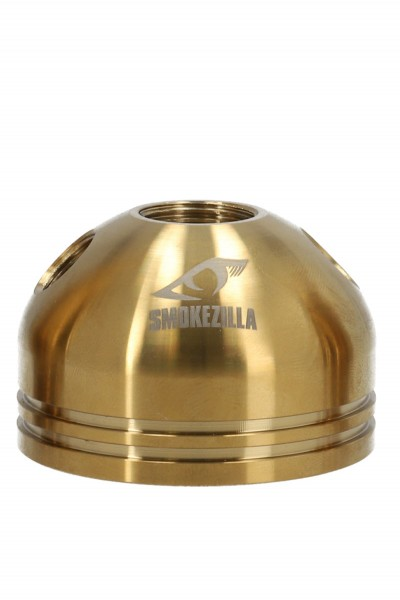 Smokezilla Rauchbase Cycor Edelstahl Gold