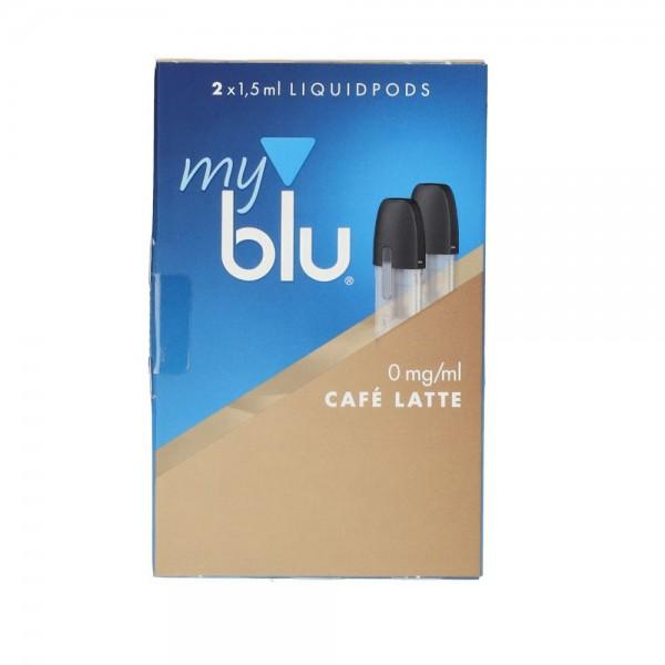 MyBlu Cafélatte Myblu POD (2er Pack) Liquid