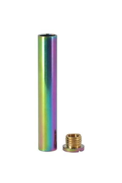 AO Kaminrohr mit Schraube Rainbow Ø 10mm