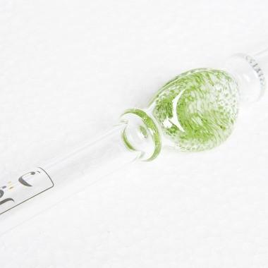 Glasmundstück Magic Glass Frits Whisked Smaragd