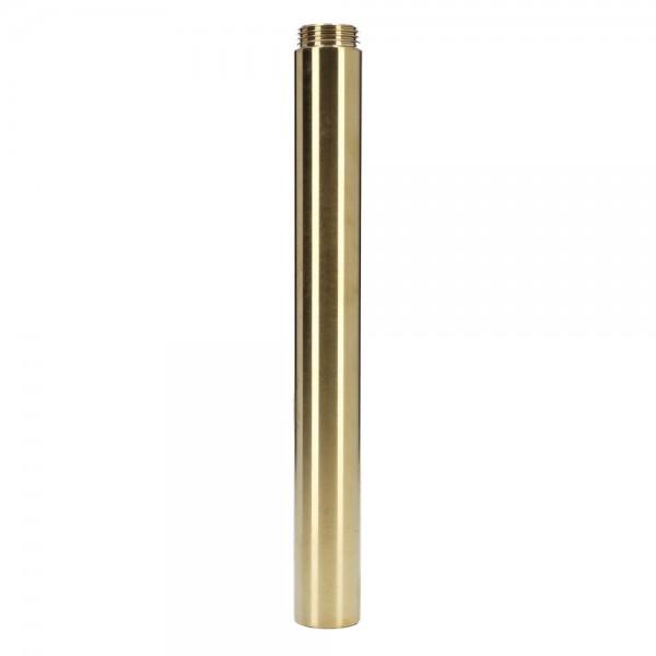 Invi Wasserrohr Tesseract Edelstahl Gold 18cm
