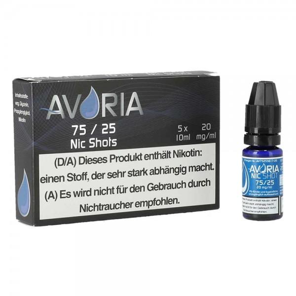 Avoria Nikotin-Shots - 20mg VPG (75/25)