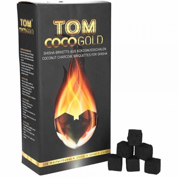 TOM Coco Gold Kokoskohle 3kg