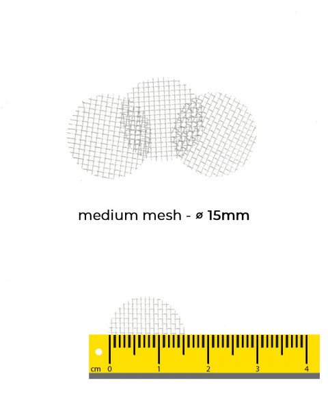 Aryva Medium Mesh Einlegesieb Ø=15mm - 100er-Pack