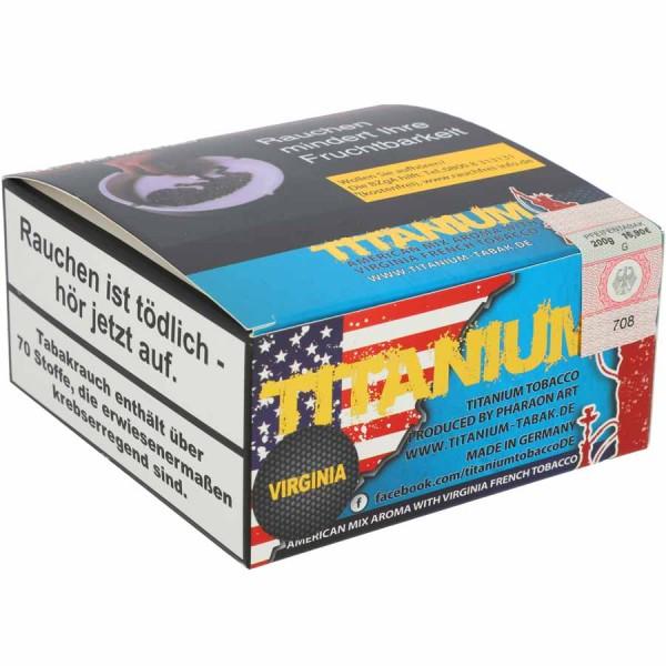 Titanium Tabak RF Virginia 200g