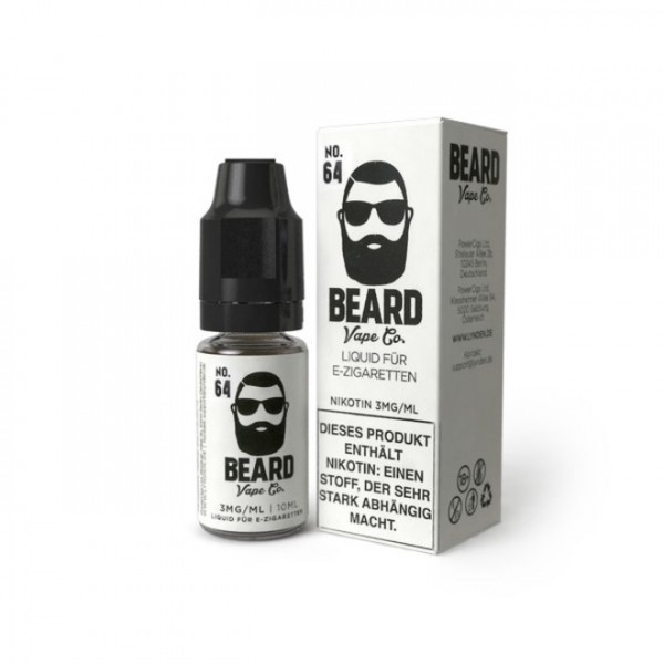 Beard Vape US Premium Liquid No.64 0mg